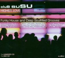 CLUB SUSU 2 HIGHER LOVE - Funky House & Deep Grooves V/A 2CDs (New Sealed) Blaze
