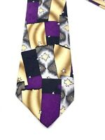 Vintage Grateful Dead Tie Miracle Tickets Necktie 100% Silk Second Set Bears