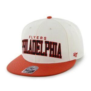 47' BRAND OFFICIAL NHL PHILADELPHIA FLYERS SNAPBACK CAP hockey