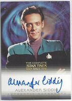 Complete Deep Space Nine DS9 Autograph Card A11 Alexander Siddig Bashir
