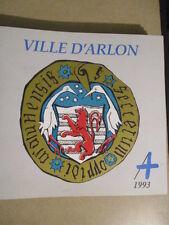 VILLE D'ARLON - 1993 -