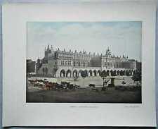 ca.1895 French photochrom SUKIENNICE (CLOTH HALL), CRACOW KRAKOW, POLAND (#426)