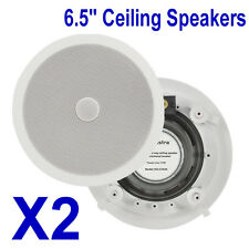 "2 x Adastra 6.5"" Ceiling Speakers with Directional Tweeters CD6  952.534"