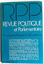 Revue Politique et Parlementaire du 09/1976; Le role des forces extra-parlementa