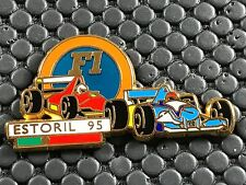 PINS PIN BADGE CAR F1 FORMULE 1 ESTORIL  95 FERRARI SIGNE MIAMI