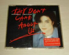 MICHAEL JACKSON They Don't Care About Us CD Single 6trk Stickered Case