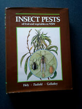 INSECT PESTS OF FRUIT AND VEGETABLES IN NSW BOOK HB DJ FIRST EDITION AUSTRALIA