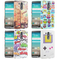 Grip Soft Silicone Case - Rubber Gel - Cover for LG G3 + Film UK