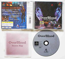 OVERBLOOD sur Sony PLAYSTATION 1 PS1 Japan