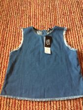 Girls Vest Top By New Look Age 15 Brand New With Tags