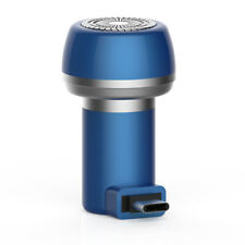 Mobile charge Electric mini Shaver,blue,type-c