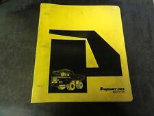 Terex Mining Payhauler 350B/C Truck Operator's Manual    70QA350C3P