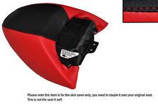 Negro Y Rojo Custom encaja Harley Davidson Street Rod vrscr trasera cubierta de asiento