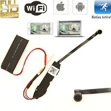 Mini 1080P WIFI Spy HD DVR Hidden 140° Wide Angle Camera Module Video Record Cam