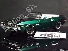 Maisto Prorodz 1:24 1970 Dodge Cargador R/t American Muscle Coche Hotrod modificado