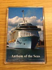 Royal Caribbean ANTHEM OF THE SEAS Large Fridge Magnet Cruise Ship Southampton d