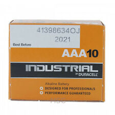 Duracell Industrial AAA Batteries For Professionals Alkaline LR03 10 Pack