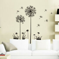 Removable Art Vinyl DIY Dandelion Wall Sticker Decal Mural Home Room Decorati zz