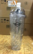 NEW OEM MINI Cooper Clear Hot Cold Drink Tumbler 20 oz 80902352803