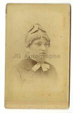 19th Century Fashion - 1800s Carte-de-visite Photograph - C.W. Pach of New York