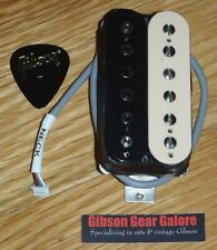 Gibson Les Paul Pickup 57 Classic Neck Zebra Guitar Parts Humbucker Rhythm 1957