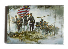 American Civil War Battle Of Gettysburg Dale Gallon Art Magnet Bayonet,Forward
