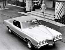 1969 Pontiac Grand Prix Hardtop Coupe Press photo 8 x 10 Photograph