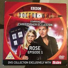 DOCTOR WHO ECCLESTON PIPER BARROWMAN ROSE EPISODE 1 SUN PROMO DVD