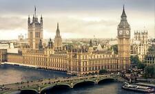Vlies Fototapete XXL Tapete Poster 011760FW Westminster London Stadt / städtisch