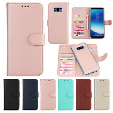 Detachable Leather Flip Magnet Wallet Stand Case Cover For Samsung Note 8 S8Plus