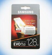 Samsung Evo Plus Micro SDXC 128GB UHS-I Card Class 10 bis zu 100MB/s +SD Adapter