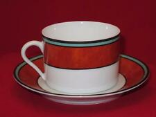 Philippe Deshoulieres Cordoba Rust Teacup Cup and Saucer Set (s) Limoges