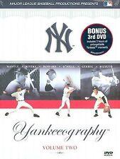 Yankeeography Vol. 2, DVD Baseball Yankees New York Bonus DVD