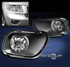 BUMPER DRIVING FOG LIGHTS LAMP CHROME W/BEZEL+SWITCH FOR 2014-2017 JEEP CHEROKEE