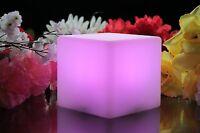 Pk Green 10cm Humeur Cube,Fonctionne à Piles LED Capteur Table Lampe Nuit +