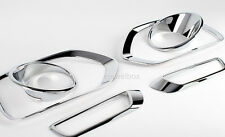 Chrome Fog Light Lamp Reflector Cover Molding for 09-13 Kia Sorento R +Tracking
