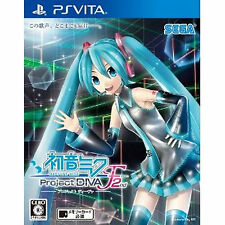 Japan playstation vita PS Vita PSV  Hatsune Miku Project DIVA- F 2nd