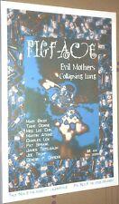 Pigface + Evil Mothers RARE LIVE CONCERT GIG POSTER Genesis P Orridge ORIGINAL