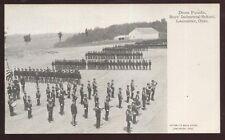 Postcard LANCASTER Ohio/OH  Boy's Industrial School Dress Parade view 1906?
