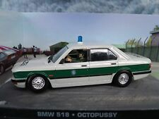 1/43 BMW 518 James Bond The Octopussy 007 series  diorama