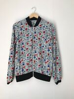 Womens Jacket Size 10 Mulitcolour Cotton Unbranded <Z1022z