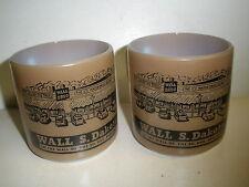 2 vintage Fire King mug Wall S Dakota-on the wall of the so. dak. badlands