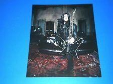 "GUS G ""OZZY OSBOURNE"" SIGNED 8X10 PHOTO coa"