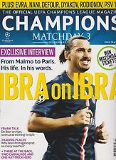 OFFICIAL UEFA CHAMPIONS LEAGUE MAGAZINE CHAMPIONS MATCHDAY 3 #28 DEC 2014