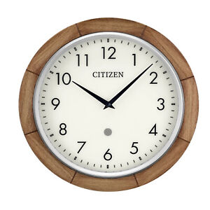 Bulova Clocks CITIZEN Echo Compatible, Programmable Wall Mounted Smart Clock