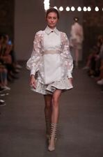 NWOT Zimmermann Runway Mischief Commander White Shirt SZ AU1 Retail $1295