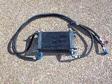 rear gear transmission 2 coolers and lines Nascar Arca scca truck circle race
