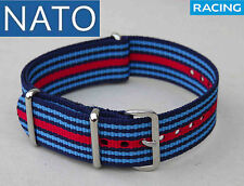 NATO 22mm MARTINIracing ( watch reloj orologio strap montre correa cinturino )