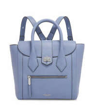 Henri Bendel RIVINGTON CONVERTIBLE FLAP BACKPACK New NWT Country Blue