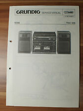TSC350 Stereo Anlage Grundig Service Manual Serviceanleitung